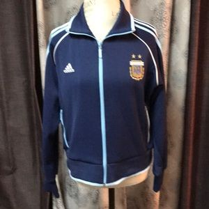 Adidas Argentina soccer jacket women's XL (Messi)